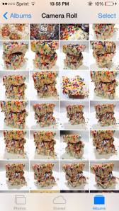 This is only a small part of my camera roll after we were done making the fudge!