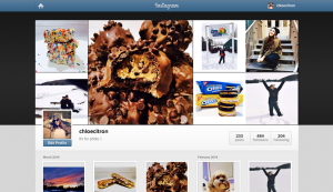 This is my Instagram Page on the website
